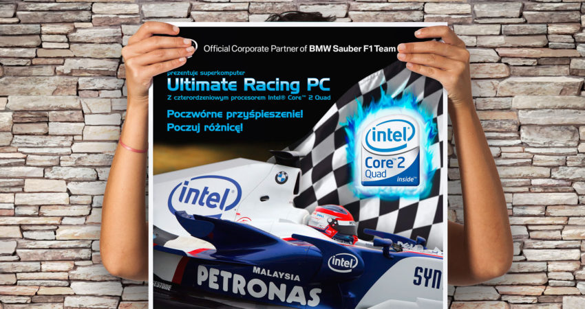 Intel Ultimate Racing PC – Plakat B1