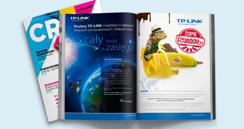 Reklama prasowa B2B – TP-Link