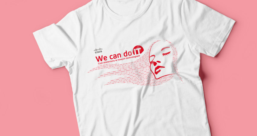 T-Shirt promocja CISCO