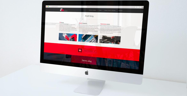 Realizacja. Strona web firmy TTS Group!